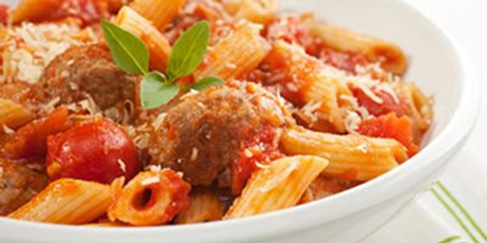 Italian Pasta Dinner and Dance