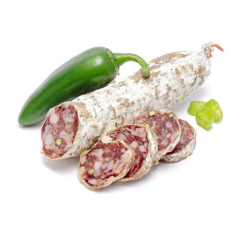 Saucisson Sec - Canard & groene peper