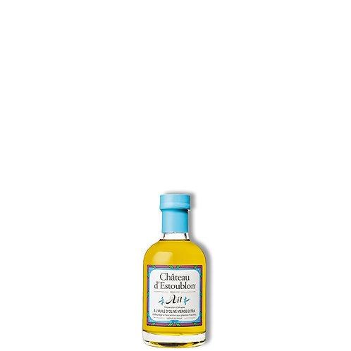 Huile d'olive aromatisée à l'ail 200 ml.