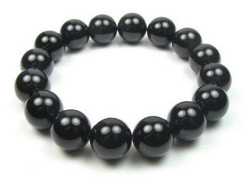Armband van Onyx - 10 mm