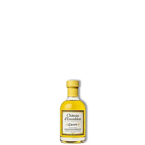 Huile d'olive aromatisée au citron 200 ml.