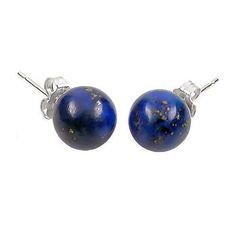 Oorbellen van Lapis Lazuli -  04 mm.