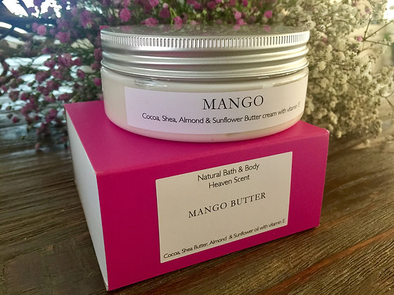Shea Butter Body Cream - Mango