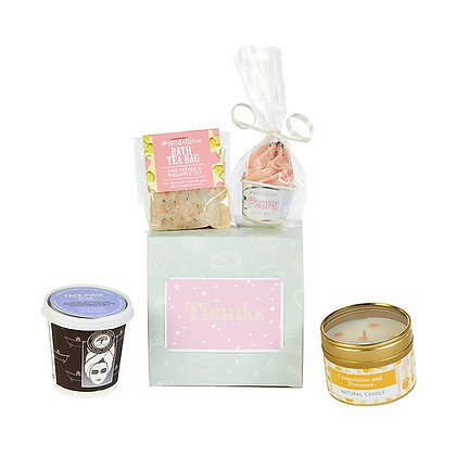 The Pamper Party - Marshmallow Rose