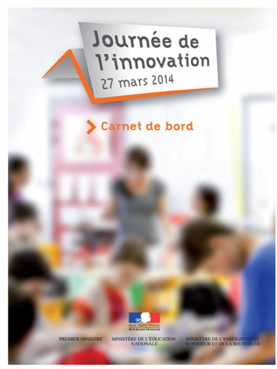 Carnet de bord de l'innovation, 2014
