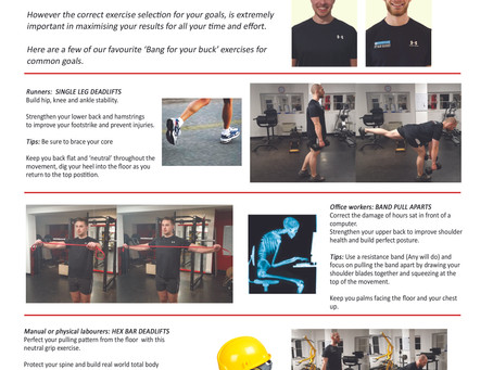 Life magazine April, workout for your work!