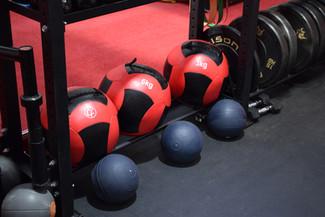 Wall balls and Slam balls!