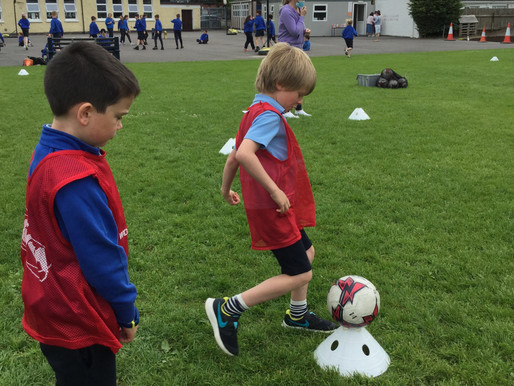Senior Infants Day 1 and 2 of Active Week
