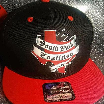 SPC Hat (blk&red)