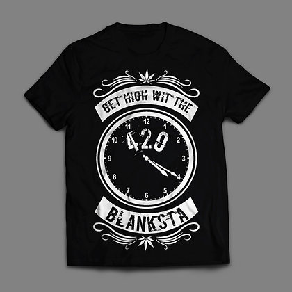 Get High With The Blanksta 420 Clock