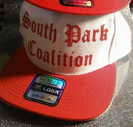 SPC Hat (wht&red)