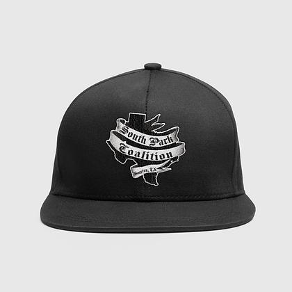 SPC BLACK LOGO CAP