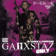 Ganxstaz Only (Screwed & Chopped)