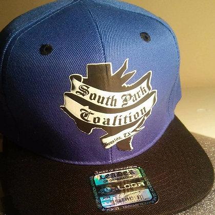 SPC Hat (blue&blk)