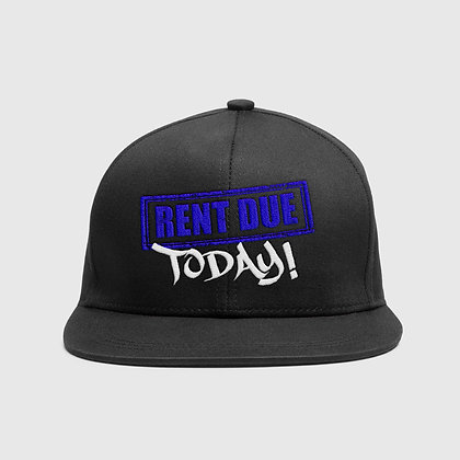 Rent Due Today (Blue Logo)