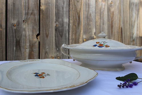 English Dishes, Grindley & Co Ltd 'Windsor Ivory'