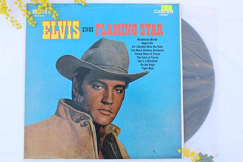 Record: Elvis Sings Flaming Star