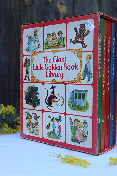The Giant Little Golden Book Library
