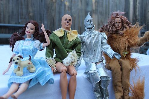 Wizard of Oz Barbie Doll Set