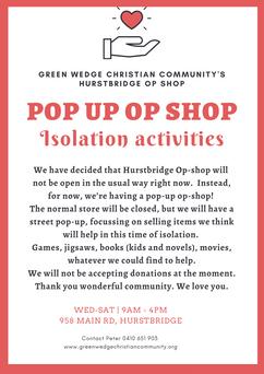 Pop-up Op-Shop