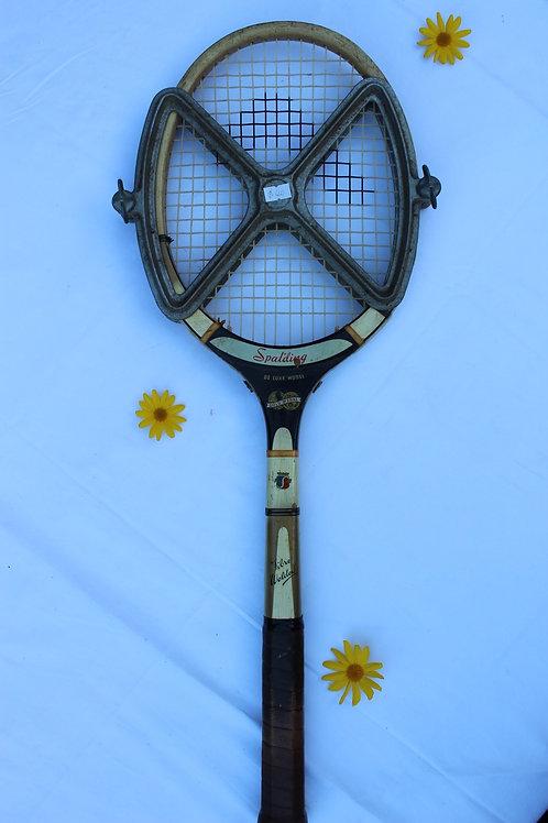 Spalding Tennis Racket with Metal Press