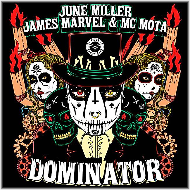 June Miller, James Marvel, and MC Mota - Dominator / A Pinda Funk EP - RAM Records