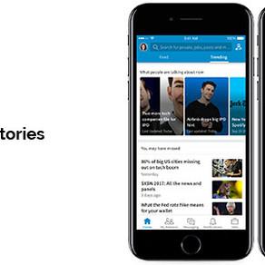 LinkedIn: stories in arrivo