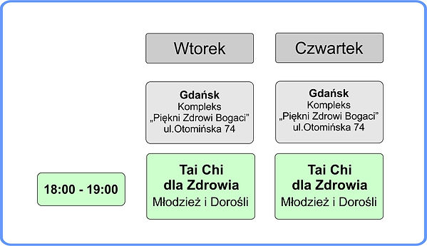 Program zajęć Gdańsk Kiełpino 2019-2020.