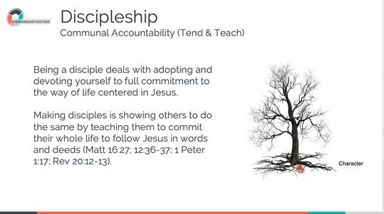 Discipleship Communal Accountability
