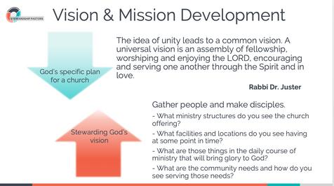 Vision & Mission Development