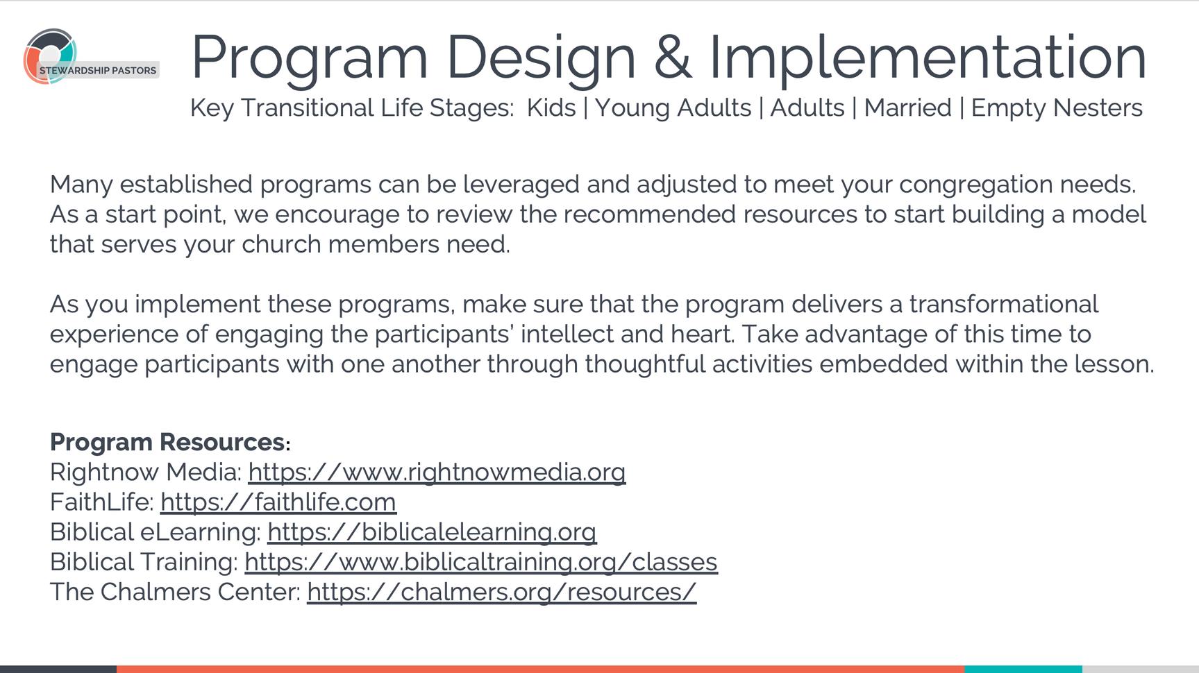 Program Design & Implementation