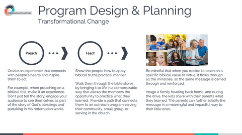 Program Design & Planning