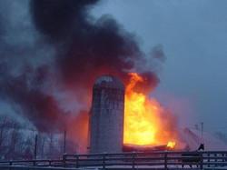 Fox View Farm Fire