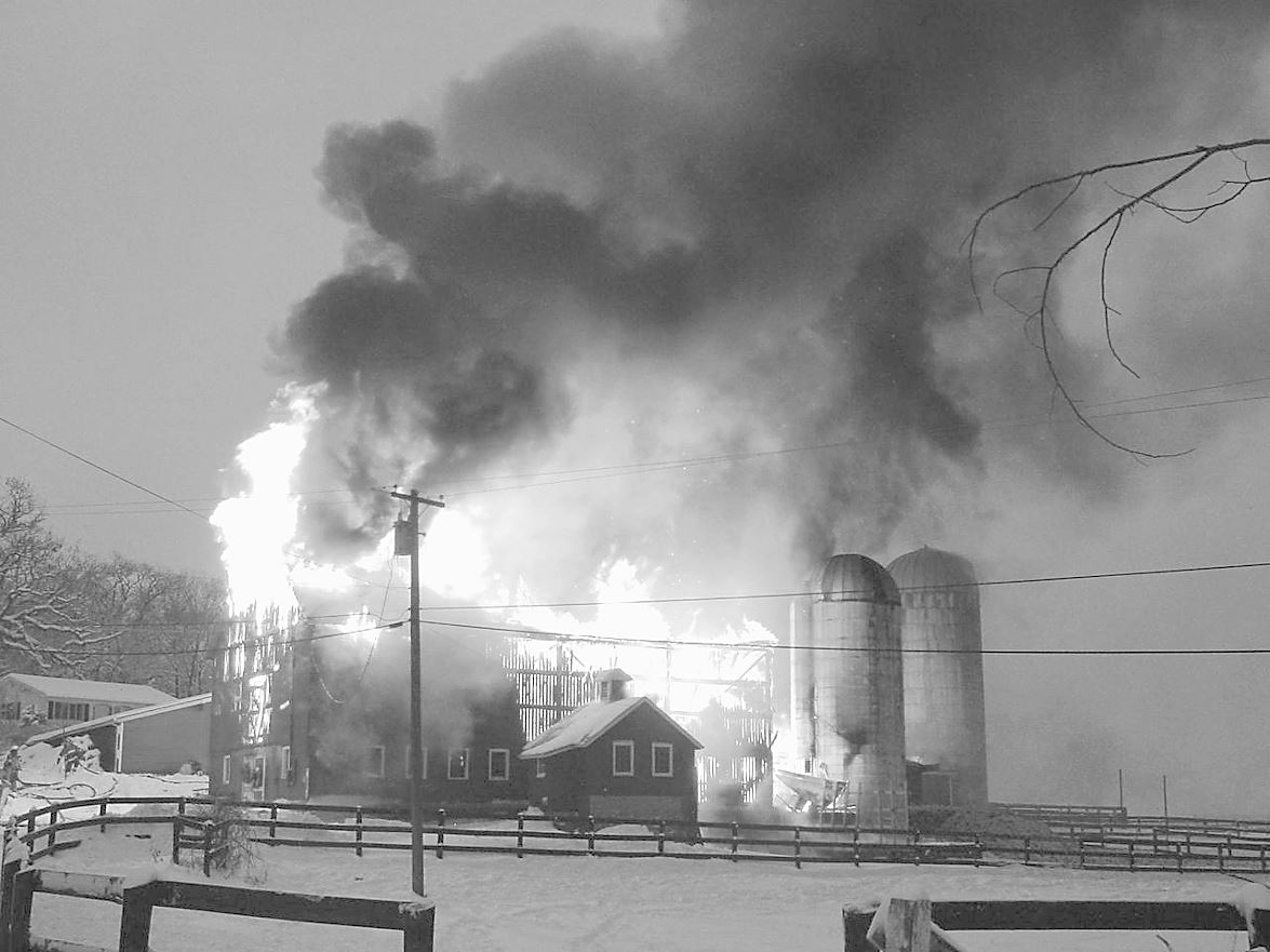 Fox View Farm Fire. Hundred Acres Rd, December 30th, 2000 2
