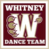 Whitney Hig Schol Dance Team