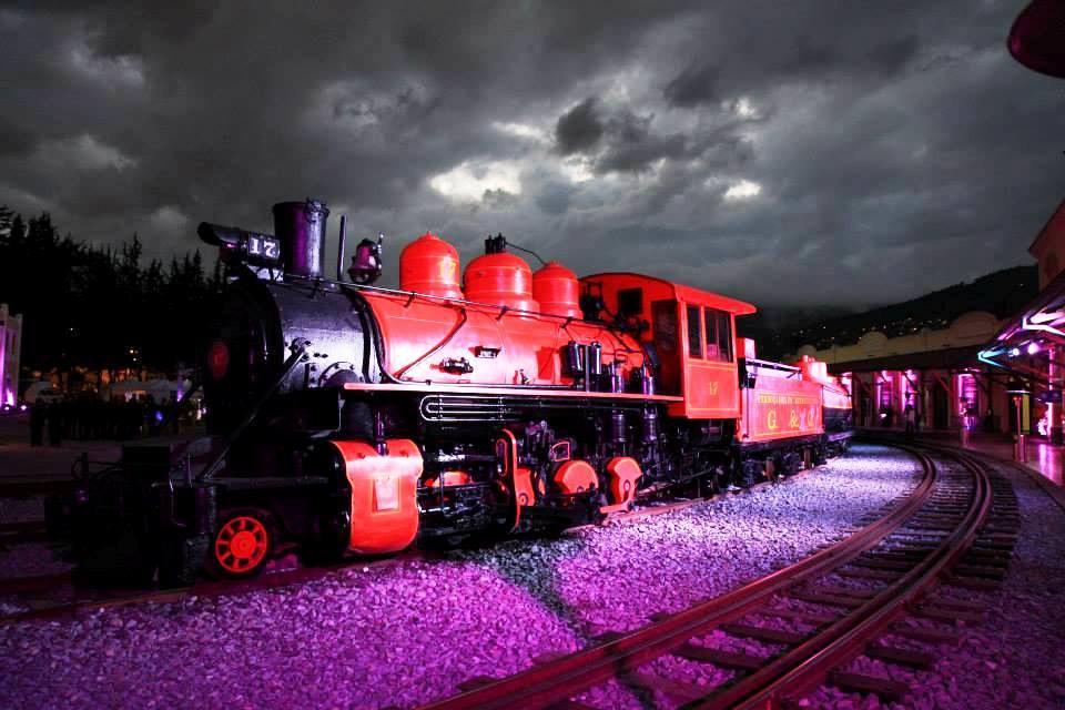 エクアドル列車