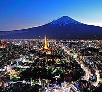 東京タワー 東京夜景 高層ビル 訪日旅行 豪華日本旅行