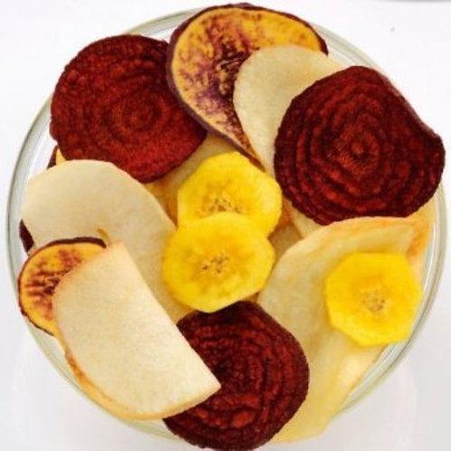 塩味バナナ『プラタノベルデ』等野菜チップス