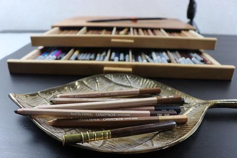 Les crayons pastels