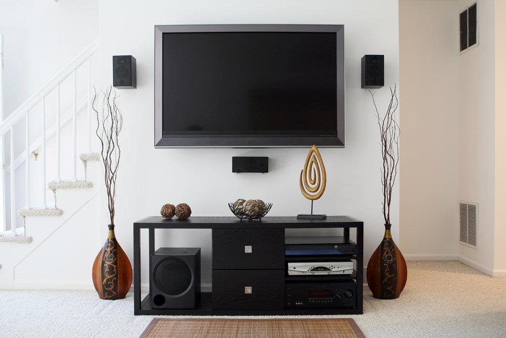 TV Mounting / Hidden Wires
