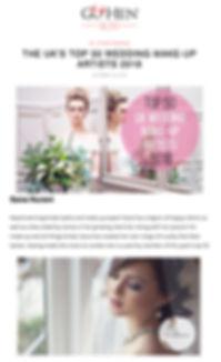 bridal makeup artist sana nurani