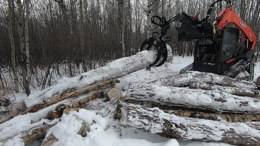 log grapple swift fox industries