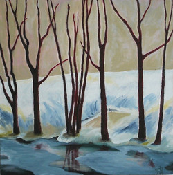 Winter in Pastell