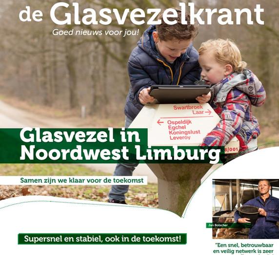 GLASVEZELKRANT NOORDWEST LIMBURG