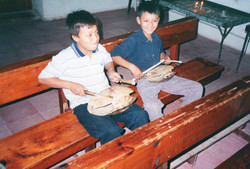 guatemala turtle shell drums