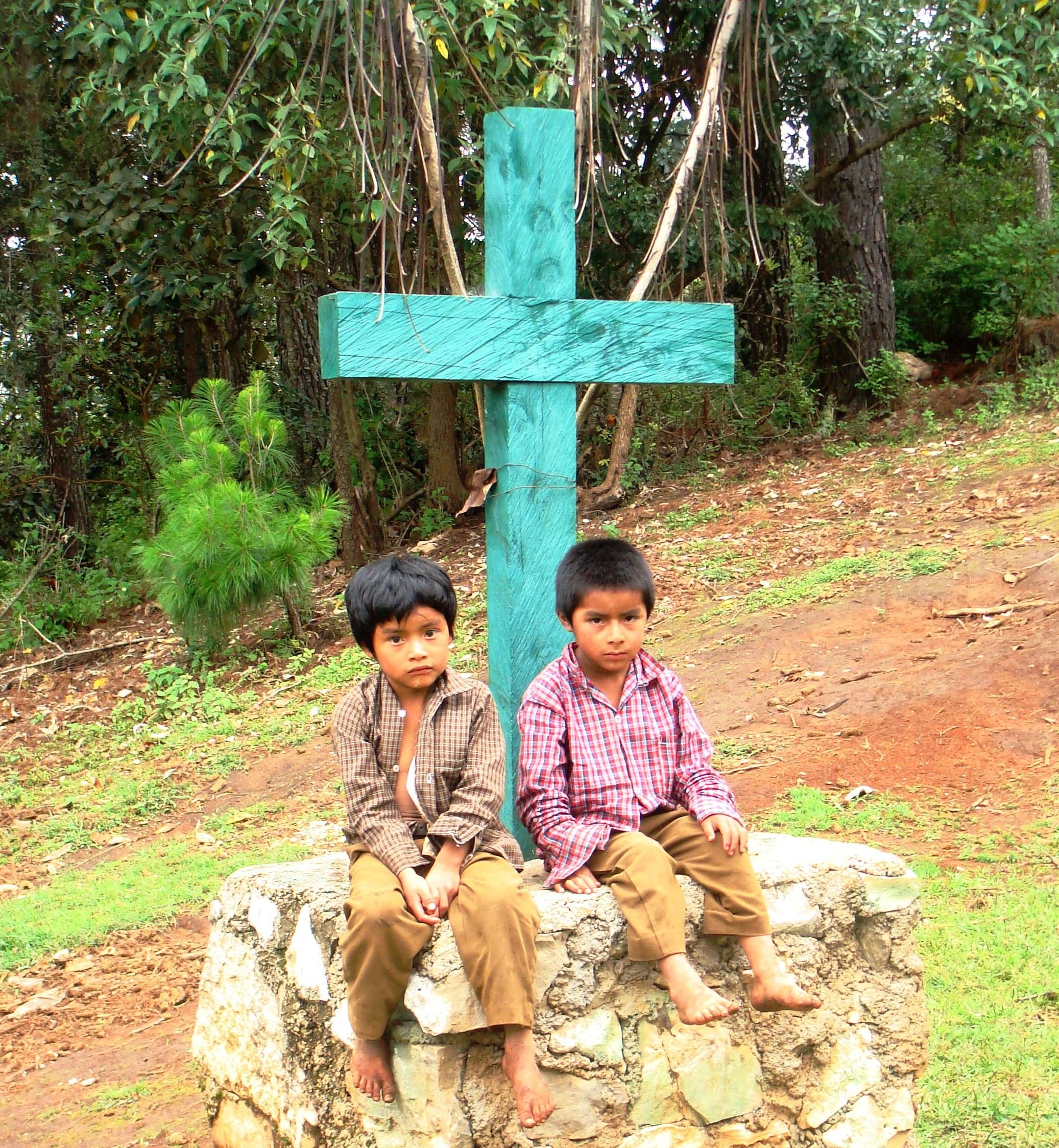 chamula children