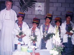 Fr Conlan 1st communicants