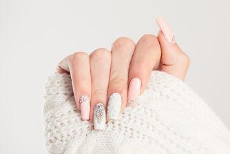 Nail Polish. Art Manicure. Modern style