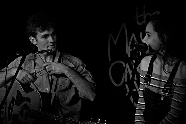 Josh Okeefe & Cora Carpenter at The Maypole Theatre, Derby