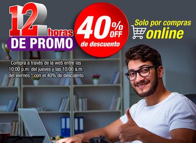 12 horas de promo on Line